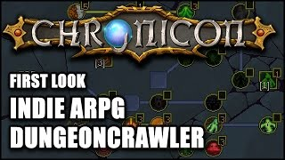 getlinkyoutube.com-CHRONICON: Indie ARPG Dungeon Crawler - First Look (On Sale Today)