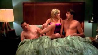 getlinkyoutube.com-Two and a Half Men - The Threesome (Walden, Alan & Lyndsay) [HD]