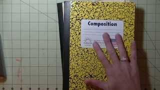 getlinkyoutube.com-Composition Book Planner