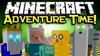 getlinkyoutube.com-Adventure Time Mod ~ 1.6.2 ( مود وحوش ( وقت المغامرات