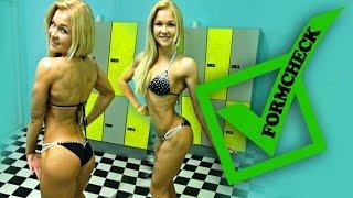 getlinkyoutube.com-Pumping Ercan über Sophias Formcheck/ 4 Wochen vor dem Wettkampf