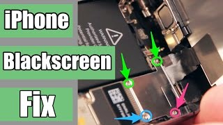 How to fix black and unresponsive iPhone screen: 5S