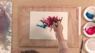 getlinkyoutube.com-Try These Loose Watercolor Techniques for Backgrounds