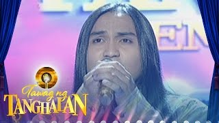 getlinkyoutube.com-Tawag ng Tanghalan: Christofer Mendrez | When I See You Smile (Round 3 Semifinals)