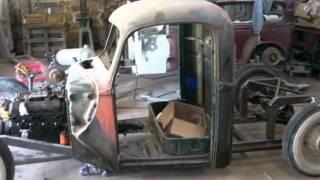 getlinkyoutube.com-46 Ford Hot Rod Rat Rod build.wmv