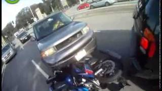 NEW MOTORCYCLE CRASH CAM GOPRO