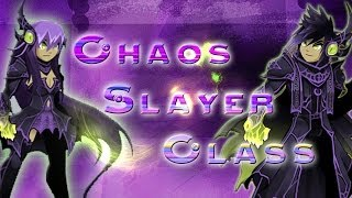 AQWorlds: How to use Chaos Slayer Class (Berserker/Theif/Mystic)