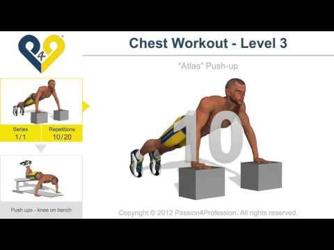 Chest Workout - Najbolje vezbe za grudi [Level 3]