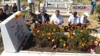 Terörün İlk Şehidi Erzincan'da Mezarı Başında Anıldı