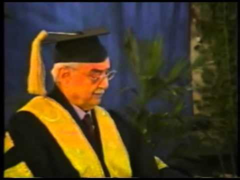 Mr. Zia Chishti Speaks at the LUMS Convocation 2002