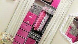 getlinkyoutube.com-Closet Tour: Organizing A Very Small Closet