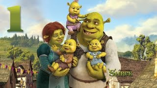 getlinkyoutube.com-Zagrajmy w: Shrek Forever #1 - Droga do Obozu