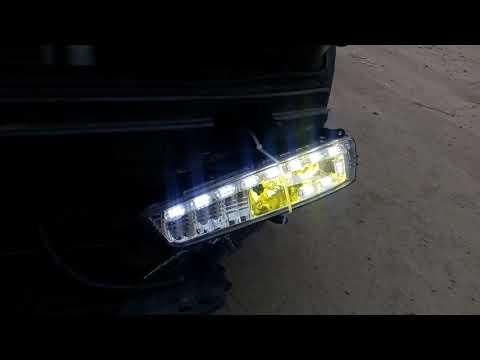 LED лампы бело-желтого свечения