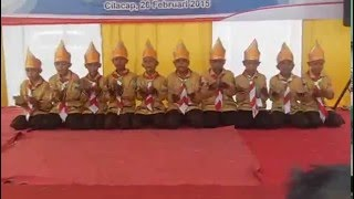 getlinkyoutube.com-SD IT BIK  Tari Saman Juara 3 putra Pesta Siaga Tingkat Kabupaten Cilacap