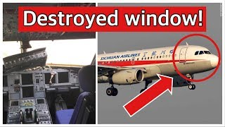 Sichuan Airlines broken window - Mentour explains