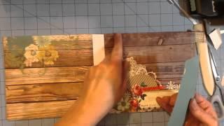 getlinkyoutube.com-6 1/2 by 6 1/2 mini album tutorial part 2