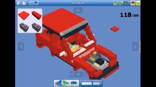 getlinkyoutube.com-Jak zrobić duży samochcód z Lego