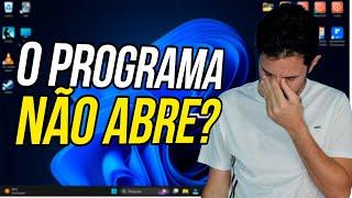 getlinkyoutube.com-O Programa não abre?