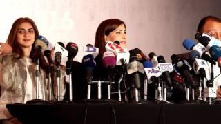 getlinkyoutube.com-majida el Roumi Press Conference Egypt2016