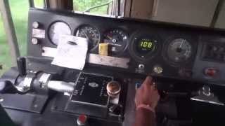 getlinkyoutube.com-[IRFCA] Rajdhani Express Loco Cab Ride, Inside WDP4B GT46PACe Locomotive
