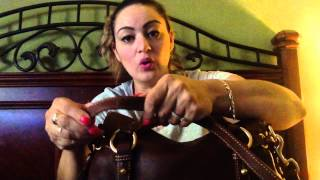 getlinkyoutube.com-#How to #Double up #Strap on a #Dooney and #Bourke bag