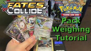 getlinkyoutube.com-Weighing Pokemon Fates Collide Target Booster Packs - Tutorial