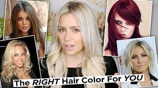 getlinkyoutube.com-The Right Hair Color for YOUR Skin tone + How To Find Your Skin Tone