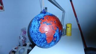 getlinkyoutube.com-como hacer un globo terraqueo con un globo