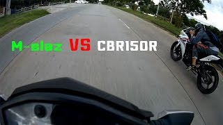 getlinkyoutube.com-Mslaz VS CBR150R