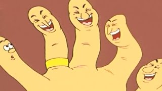 Five Fingers | Paanch Boat | Animated Moral Story For Kids - Marathi