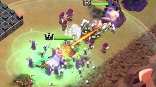 getlinkyoutube.com-GRAND WARDEN + MAX WITCHES 3 STARS ATTACK | Clash Of Clans | ''New Update'' TH11, Eagle Artillery!!