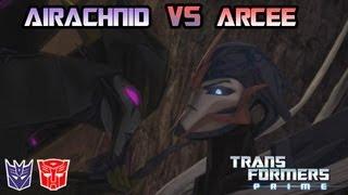 Transformers Prime: The Game - Arcee Vs. Airachnid
