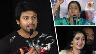 getlinkyoutube.com-Lakshmi Rai does my Makeup | Sowcarpet Audio Launch | Srikanth, Vadivukkarasi