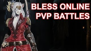 getlinkyoutube.com-Bless Online PvP Battles in Patala Island