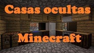 getlinkyoutube.com-Como hacer casas ocultas en minecraft