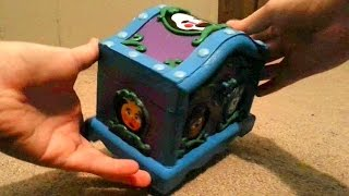"""CUSTOM Five Nights at Freddy's Music Box: Real Working Music Box Plays """"Grandfather's Clock"""""""