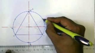 getlinkyoutube.com-1st lecture Part 3 المحاضرة الاولى (رسم المضلعات) الجزء الثالث رسم الشكل السداسي داخل دائرة