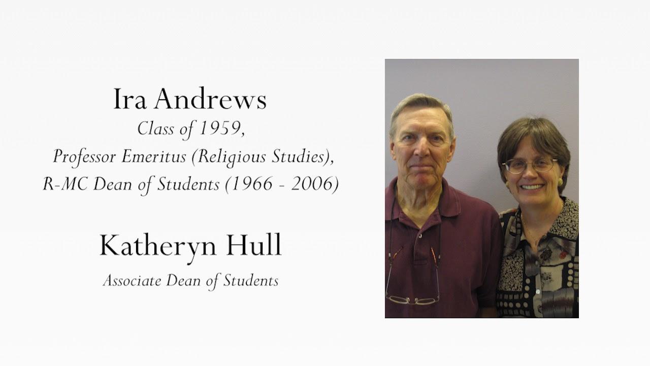 Ira Andrews and Katheryn Hull