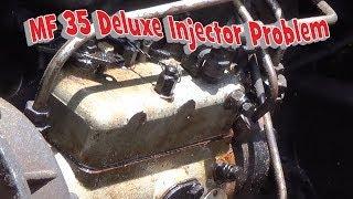 getlinkyoutube.com-Massey Ferguson 35 Deluxe Injector Problem Part 1