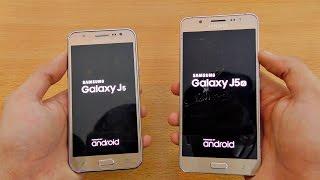 getlinkyoutube.com-Samsung Galaxy J5 (2015) vs J5 (2016) - Speed Test! (4K)