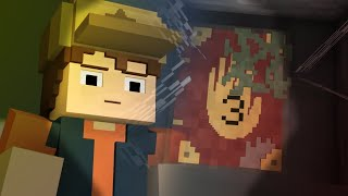 getlinkyoutube.com-Minecraft Gravity Falls Animation - Finding The Journal