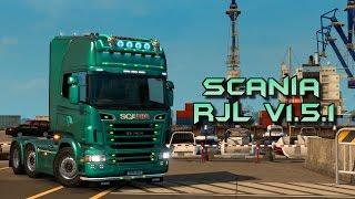getlinkyoutube.com-Euro Truck Simulator 2 - Scania RJL V1.5.1 - Test Drive Thursday #45