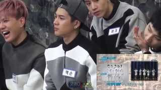 getlinkyoutube.com-[직캠Fancam]141120 GOT7 React to JYP style formula(JACKSON)