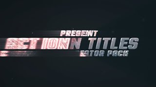 getlinkyoutube.com-Action Titles Trailer Creator (After Effects Template)