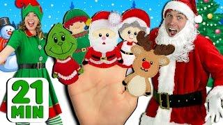 getlinkyoutube.com-Christmas Finger Family and More Finger Family Songs! | Finger Family Collection