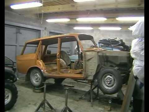 1982 Moskvich 2137 restoration - part 4