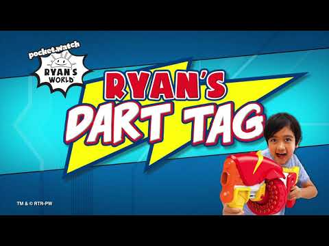Ryan's World Dart Tag Renegade Rapid Fire Barrel Blaster