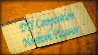 getlinkyoutube.com-DIY Composition Notebook Planner