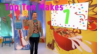 Top Ten Makes | Arty Party | Mister Maker