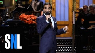 getlinkyoutube.com-Aziz Ansari Stand-Up Monologue - SNL